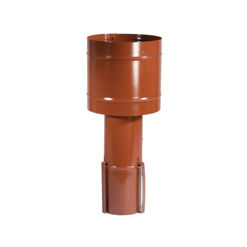 Windmaster Stainless Steel Chimney Cowl Solid Fuel 255mm - Terracotta