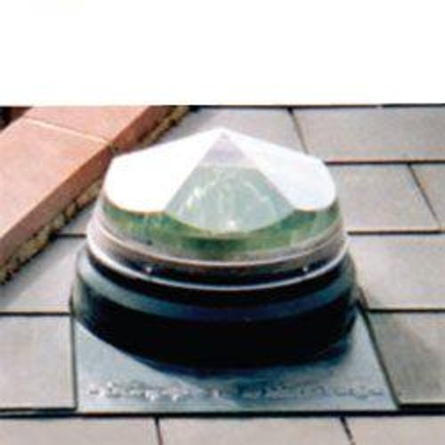 Diamond Dome Sunpipe 230mm Slate Roof Kit Up To 45dg Pitch