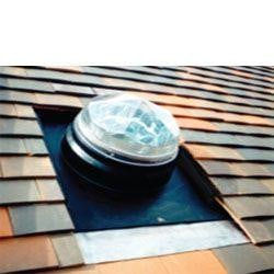 Diamond Dome Sunpipe 230mm Plain Tile Roof Kit Up To 45dg Pitch