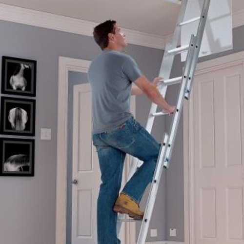 abru-37000-3-section-loft-ladder-in-use