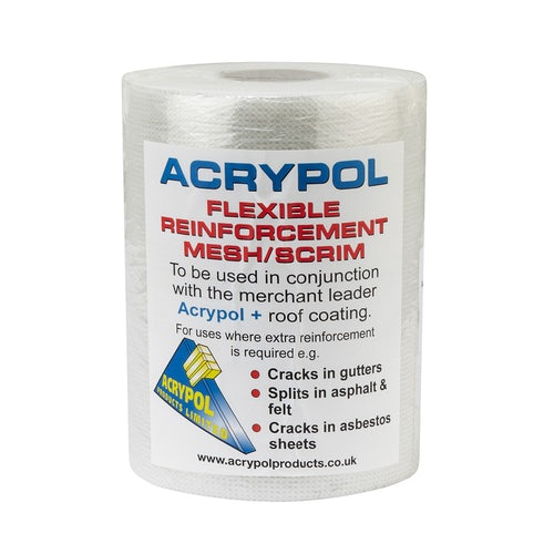 Video of Acrypol Flexible Reinforcement Mesh / Scrim - 1m x 100m Roll (Large)