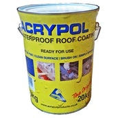 Acrypol Acrylic Waterproof Coating (With No Fibres) 20kg Drum - Solar White