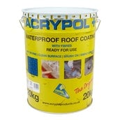 Acrypol Plus Acrylic Waterproof Coating - Black - 20kg (RC3005/20)