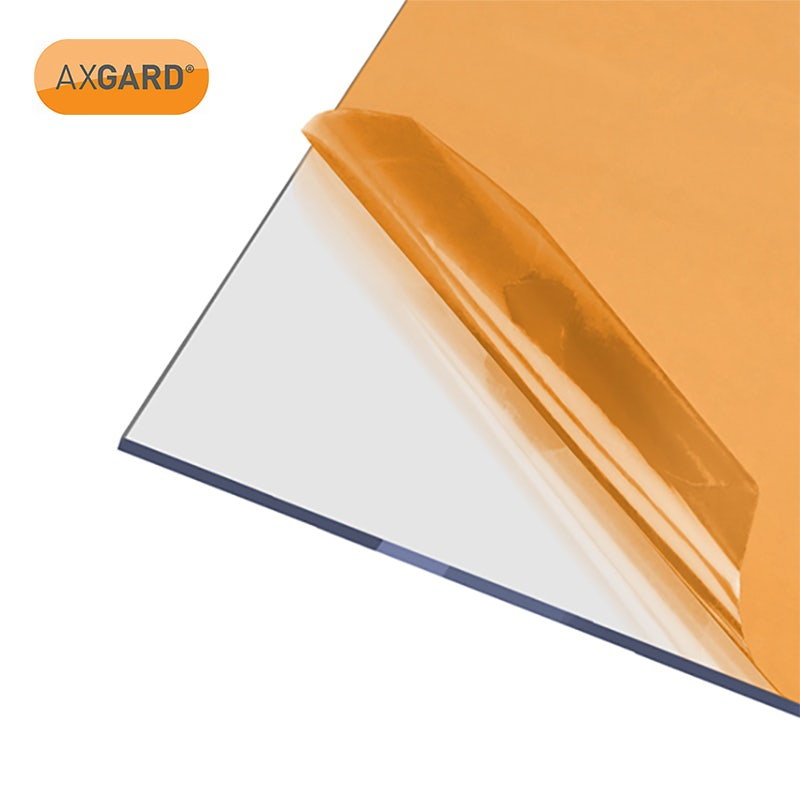 Video of AXGARD 6mm Clear Solid Polycarbonate Glazing Sheet - 3050mm x 1000mm
