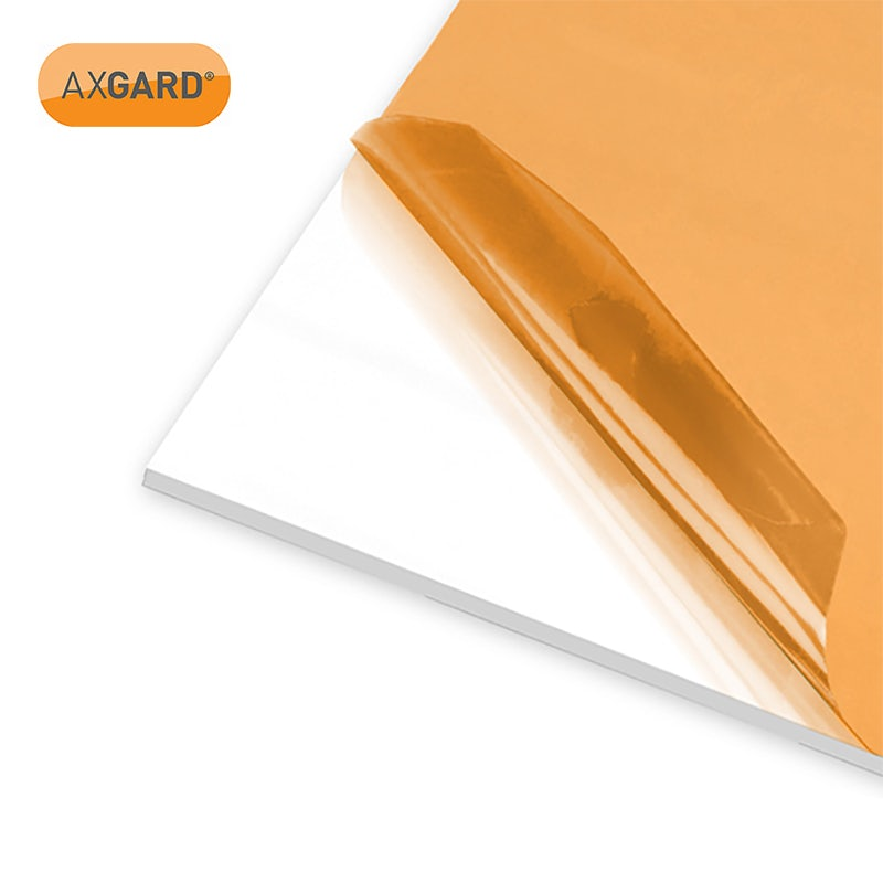 Video of AXGARD 5mm Opal Solid Polycarbonate Glazing Sheet - 2050mm x 1000mm