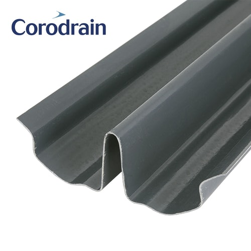 Harcon Corodrain Dry Fix Heavy Weight Valley for High Profile Tiles - 3m