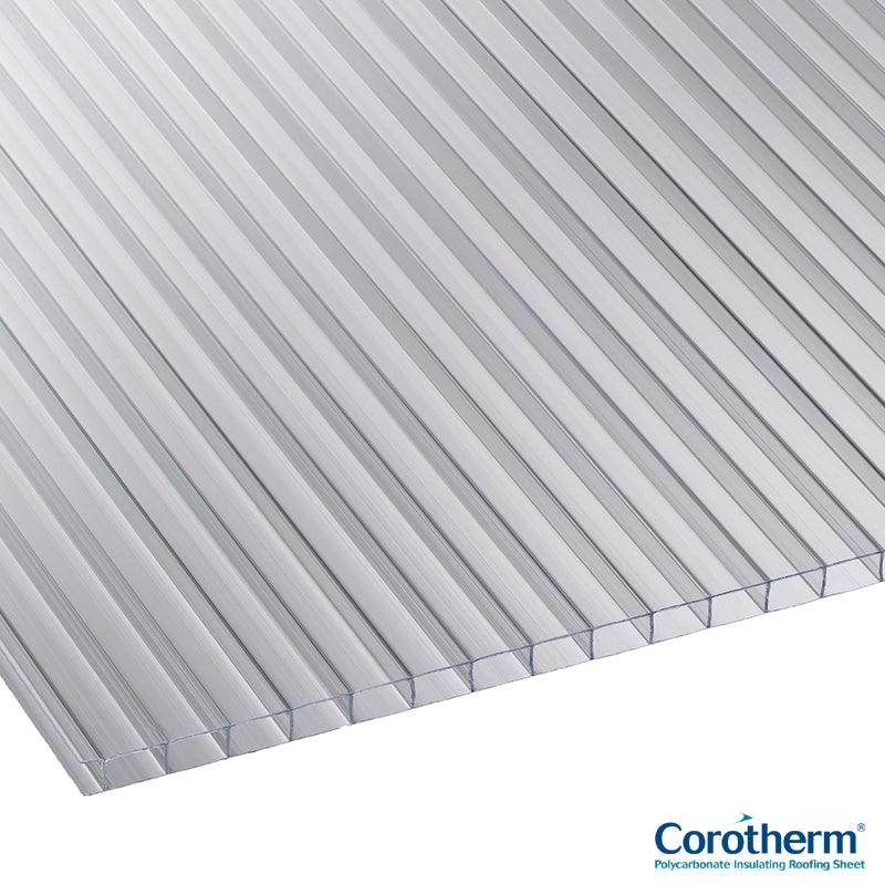 Video of Corotherm 10mm Clear Twinwall Polycarbonate Sheet 3000mm x 1220mm