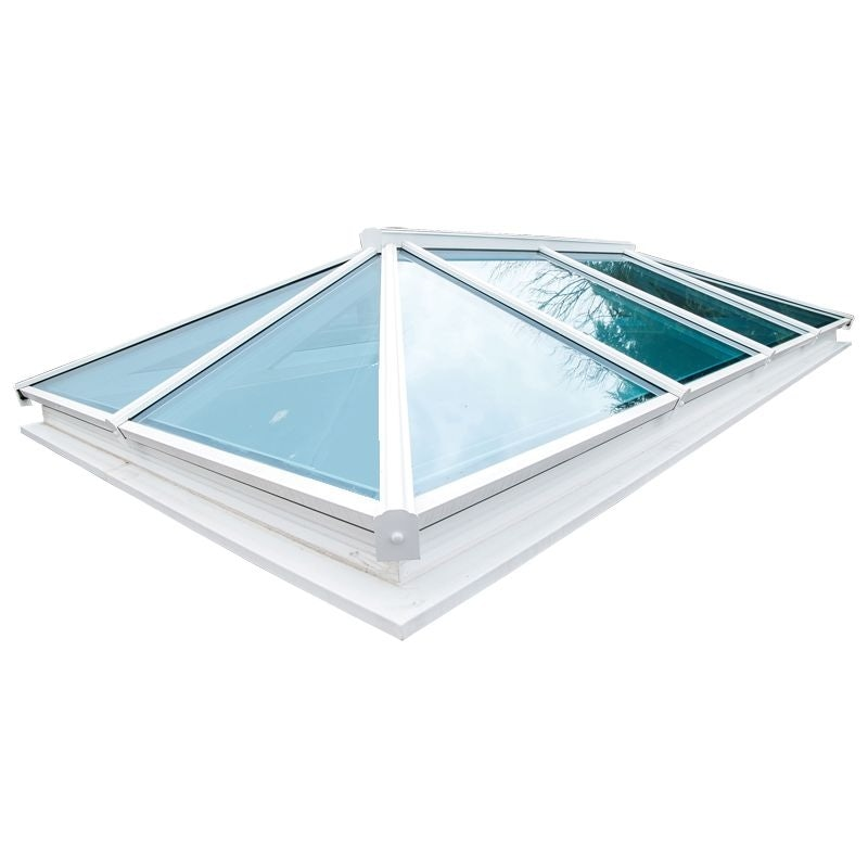 Video of Atlas Active Blue Double Glazed Traditional Roof Lantern in White - 1000mm x 2000mm