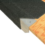 Bailey Sure-line Pre-formed 1950mm Flat Roof Drip Edges - 70mm Face (Box of 5) - Green