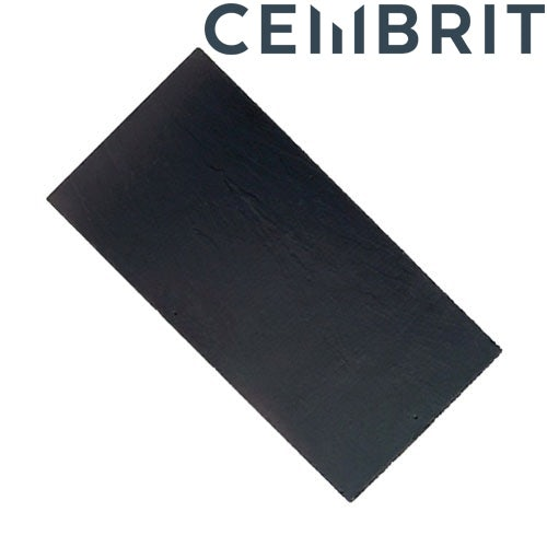 Cembrit Westerland 600 x 300mm ManMade Fibre Cement Slate - Blue/Black