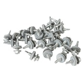 Cladco 22mm Stitcher Screw & 16mm Bonded Washer Pack of 100
