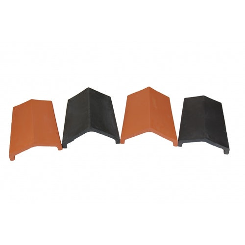 Redland Clay Universal Angle Ridge in Black - Pallet of 144