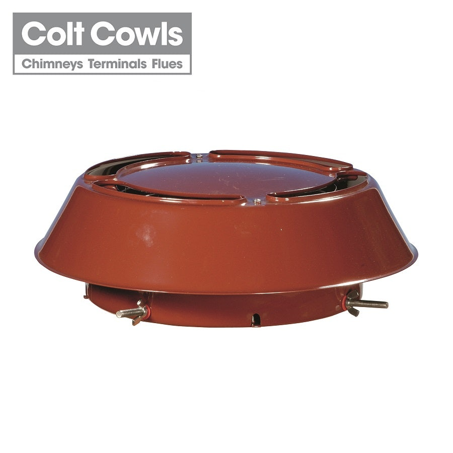 Video of Colt Cowls Colt Top All Purpose Anti-Downdraught Cowl - 125mm to 250mm