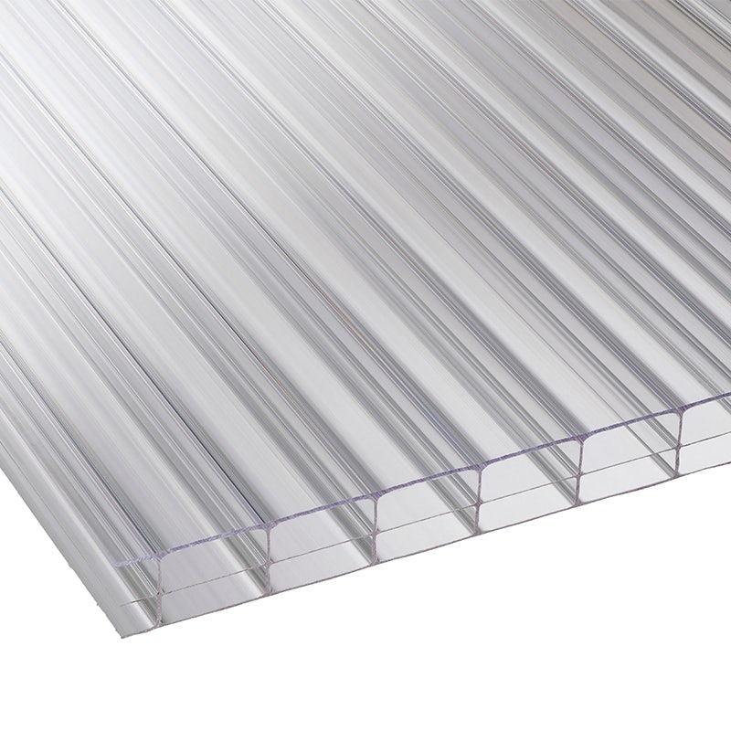Corotherm 16mm Clear Triplewall Polycarbonate Sheet - 3000mm x 1050mm