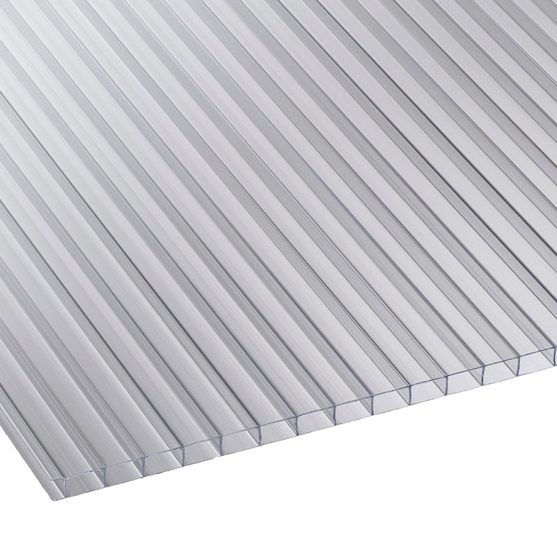 Corotherm 10mm Clear Twinwall Polycarbonate Sheet - 2500mm x 700mm