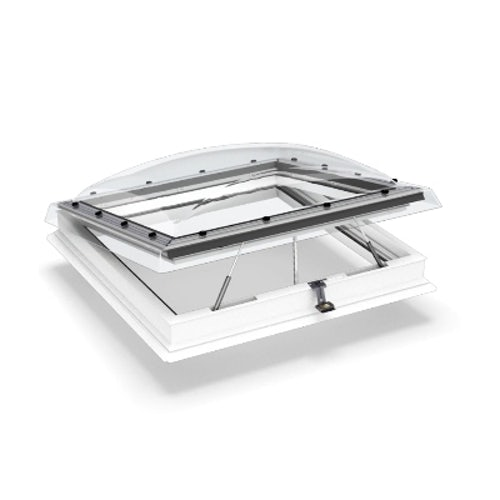 VELUX Flat Roof Window Clear INTEGRA Dome and Kerb - 900mm x 900mm