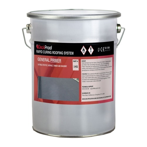 DeckProof Rapid Curing General Deck Roof Primer Base Layer - 3kg