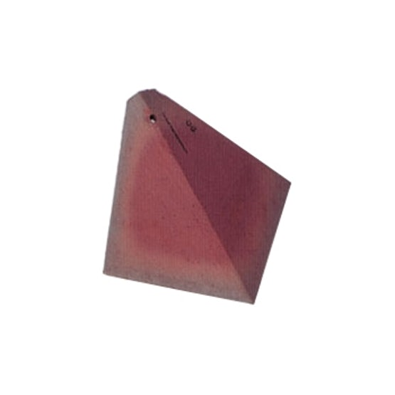 Dreadnought Premium Clay Roof Arris Hip Tile - Red Smooth