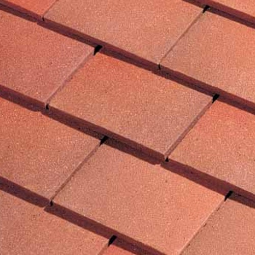 Dreadnought Premium Clay Roofing Tile - Country Brown Smooth