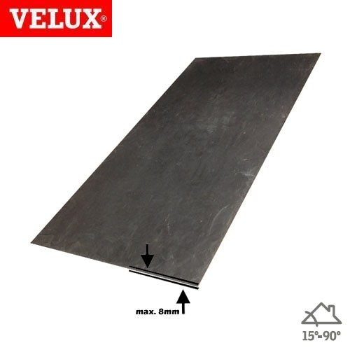 Video of VELUX EDL CK04 2000 Insulated Single Slate Flashing - 55cm x 98cm