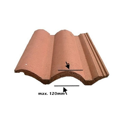 VELUX EDW PK04 0000 Single 120mm Tile Flashing - 94cm x 98cm