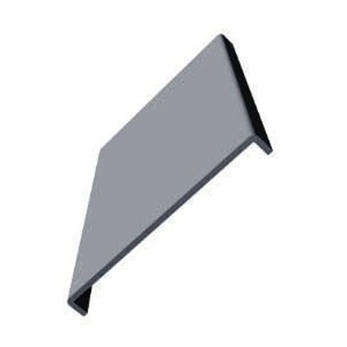 uPVC 410mm Fascia Board (10mm Double Edged Square) 5m - Storm Grey