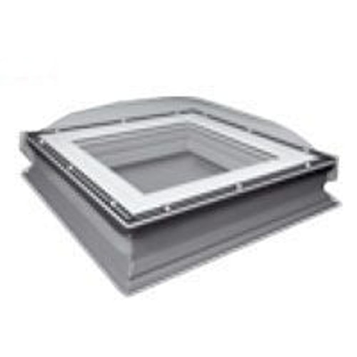 Fakro DXC-C P2 600600 Flat Roof Fixed Dome & Kerb - 600mm x 600mm