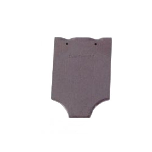 Dreadnought Premium Clay Fish Tail Roofing Tile - Blue Brindle Smooth