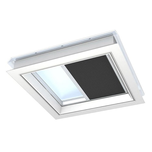 VELUX FMK 080080 1047 Electric Light Dimming Energy Blind - Charcoal