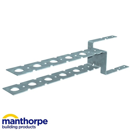 Manthorpe Roll Out Dry Ridge Batten Support Brackets - Pack of 10