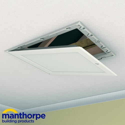 Manthorpe GL250-015 PU Insulated Drop Down Loft Door - 562mm x 726mm