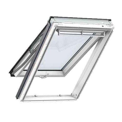 VELUX GPL CK04 2070 White Top Hung Window Laminated - 55cm x 98cm