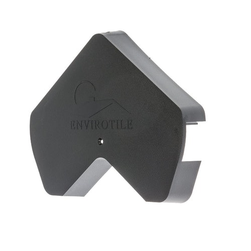 Envirotile Plastic Lightweight Gable End Cap - Anthracite