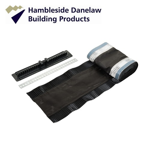 Hambleside Danelaw Dry Fix Roll Out Ridge & Hip Vent System - 3m Kit