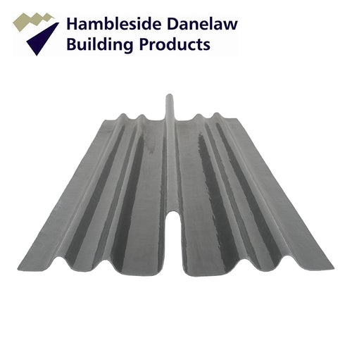 Danelaw GRP Dry Fix Valley for Low Profile Tiles 3m Length - Pack of 5