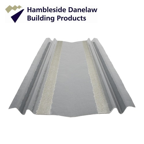 Danelaw HDL RP3 GRP Tile Valley Trough 380mm x 3m - Pack of 10