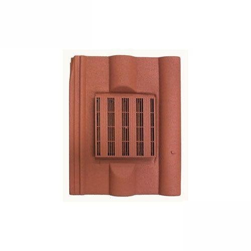 Harcon In-line Double Pantile Roof Tile Vent - Red
