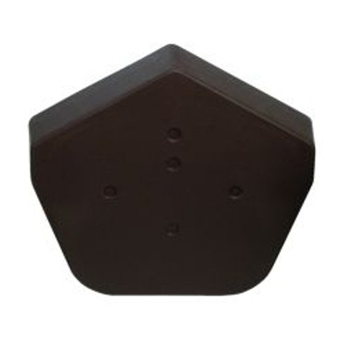 Klober Dry Verge Universal Angle Ridge End Cap in Black - Pack of 2