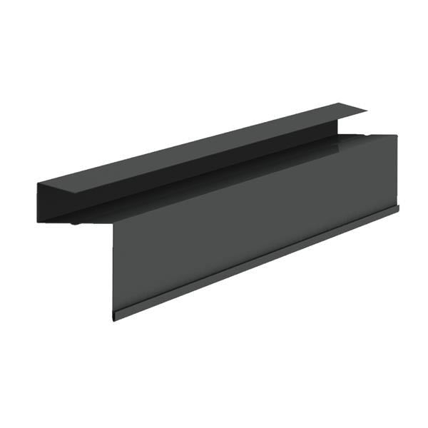 Video of Kytun Aluminium Dry Verge for Natural Slates RetroFit in Black - Pack of 4
