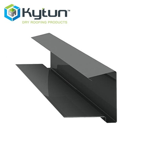 Kytun 65mm Aluminium Dry Verge Tile System in Blue/Black Pack of 4
