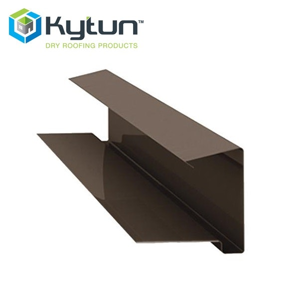 Video of Kytun 65mm Aluminium Dry Verge Tile System in Brown Pack of 4
