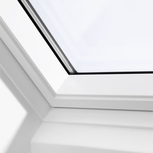 VELUX GPL SK06 2066 White Top Hung Window Triple Glazed - 114 x 118cm