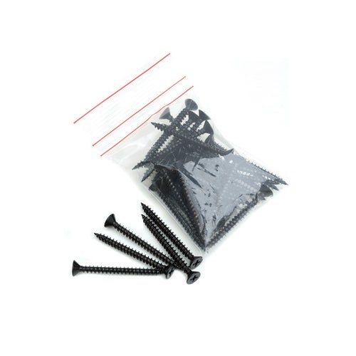 Lightweight Roof Tiles Plastic Coated Fixing Screws - Pack of 40