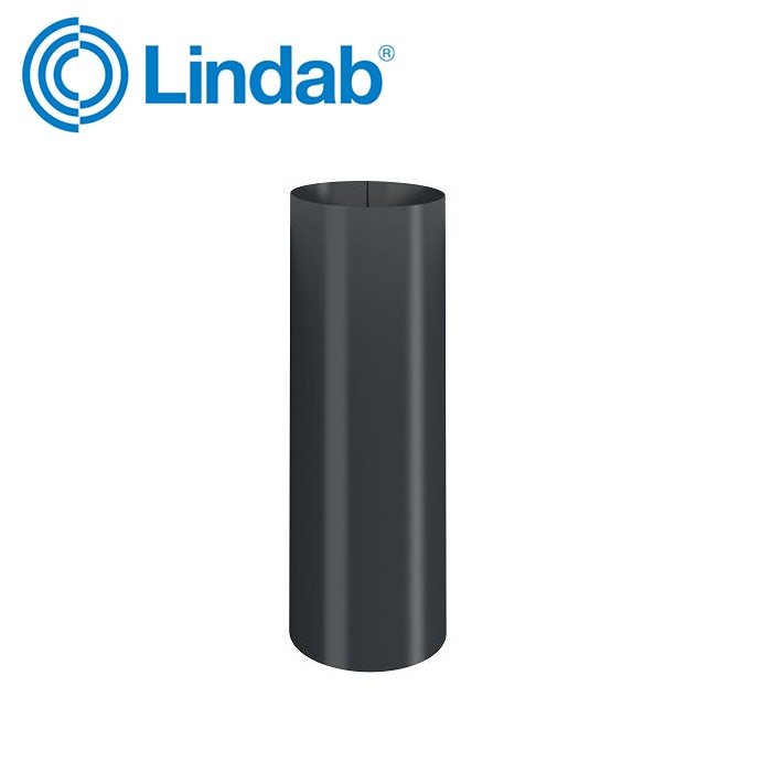 Video of Lindab Sliding Pipe 87mm - Anthracite Grey