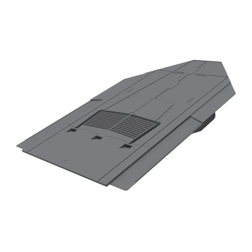 Manthorpe In-Line Slate Vent with Built-in Spigot (8800mm2) - Grey