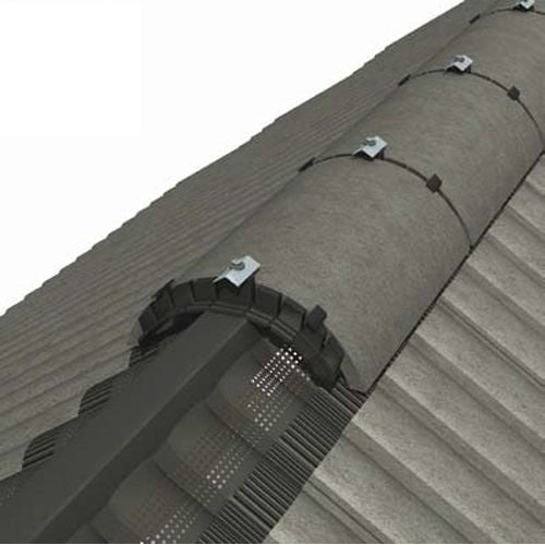 Manthorpe Roll Out Dry Vent Ridge System in Brown - 3m Pack