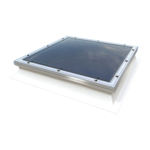 Mardome Trade Double Skin Fixed Rooflight in Clear - 600mm x 600mm