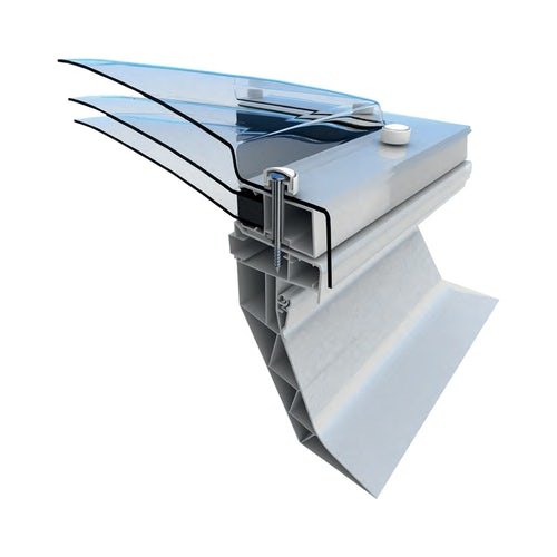Mardome Trade Triple Skin Opening Rooflight in Bronze with Auto Humidity Vent - 900x1200mm