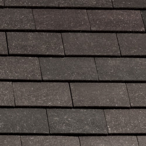 Marley Clay Plain Acme Single Camber Tile & Half - Grey Sandfaced