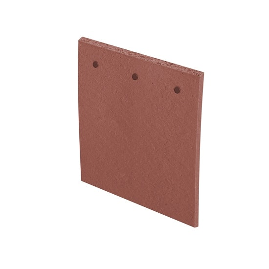 Video of Marley Clay Plain Acme Single Camber Roof Tile & Half - Red Sandfaced